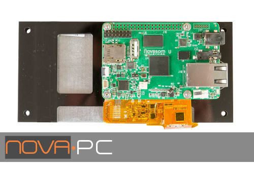 NOVA PC - Embedded System - plug and play solution for HMI, Automation, Health, etc