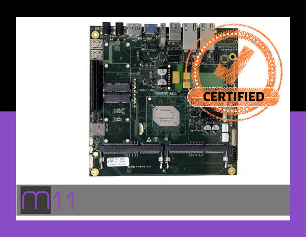 Certifications Novasom Industries M11 board