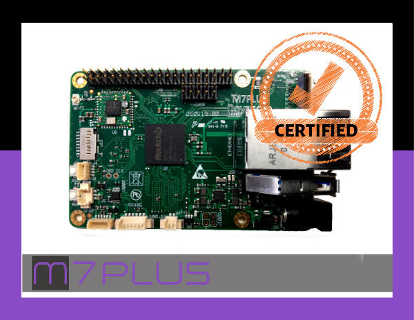 Certifications Novasom Industries M7+ board