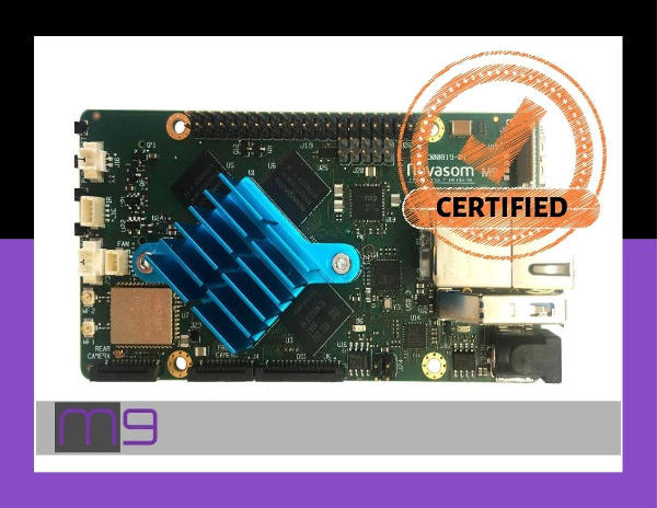 Certifications Novasom Industries M9 board