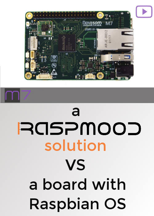 raspmood solution vs board raspbian OS